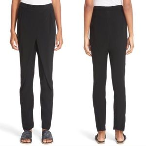 Zero + Maria Cornejo Faux Wrap Drape Pants